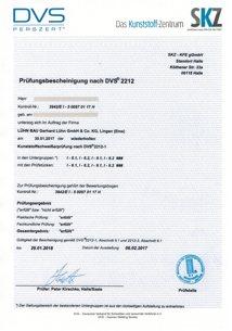 DVS-Zertifikat - 2018-01-29