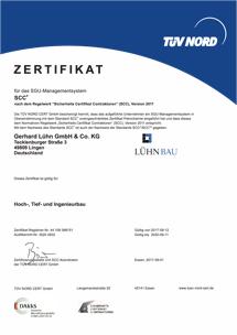 SCC-P Zertifikat bis 2020.09.11