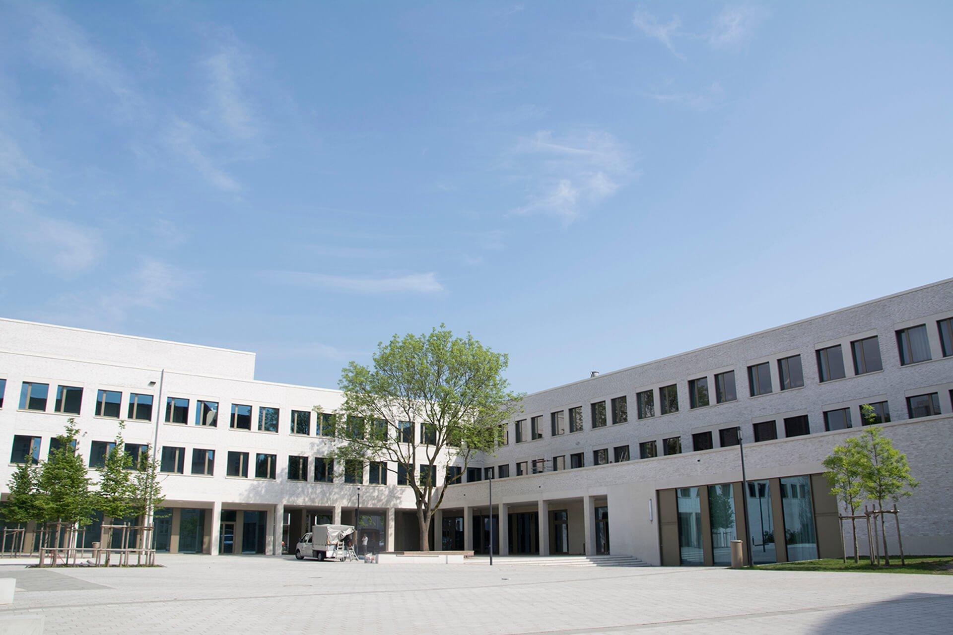Gymnasium Hoheluft Aussenansicht