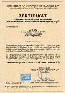Eignungsnachweis UEK-2+3 bis 2019.12.31