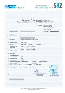 DVS Zertifikat 2020.02.27